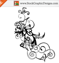 050-free-hand-drawn-swirl-floral-vector-l