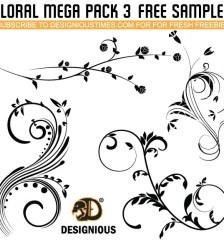 132-vector-flourish-free-pack