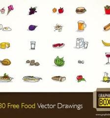 035-free-food-vector-drawings