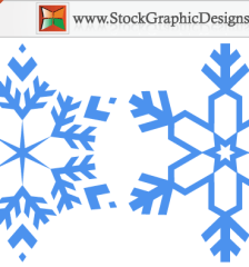 035-snowflakes-free-vector-graphic-images-l