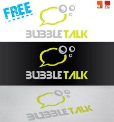 155-free-bubble-talk-logo