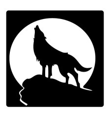 howling-wolf-free-vector-3167