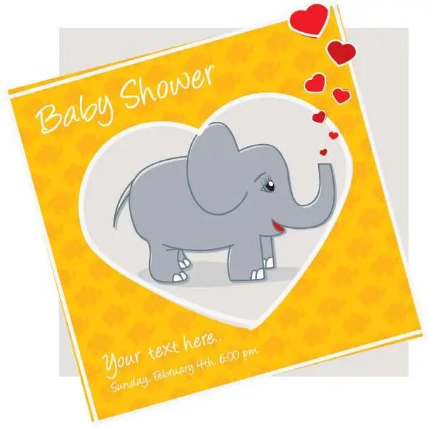 30+ Baby Shower Invitation Vectors Download Free Vector Art