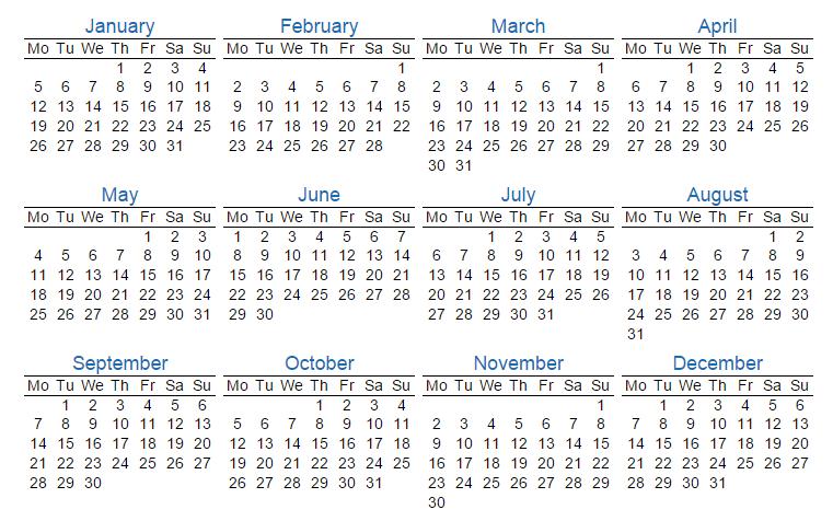 Printable 2014 Calendar How To Make A Calendar For 2015 123ict 123ict