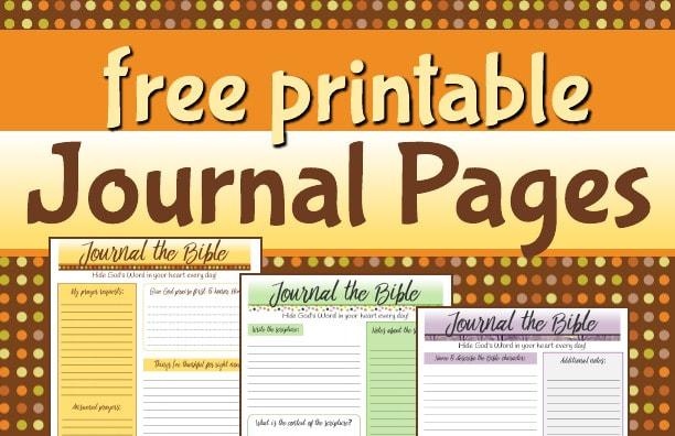 Free Christian Education Printable PDF Resources - 123 Journal