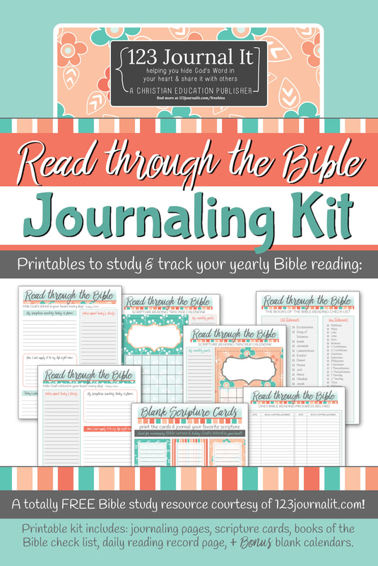 Free Christian Education Printable PDF Resources - 123 Journal It