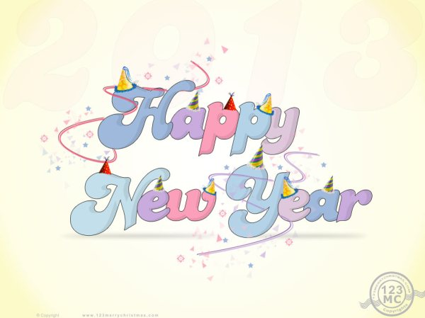 Happy New Year 2013 Download Free Wallpaper. 1024 x 768.Happy New Years Screensaver