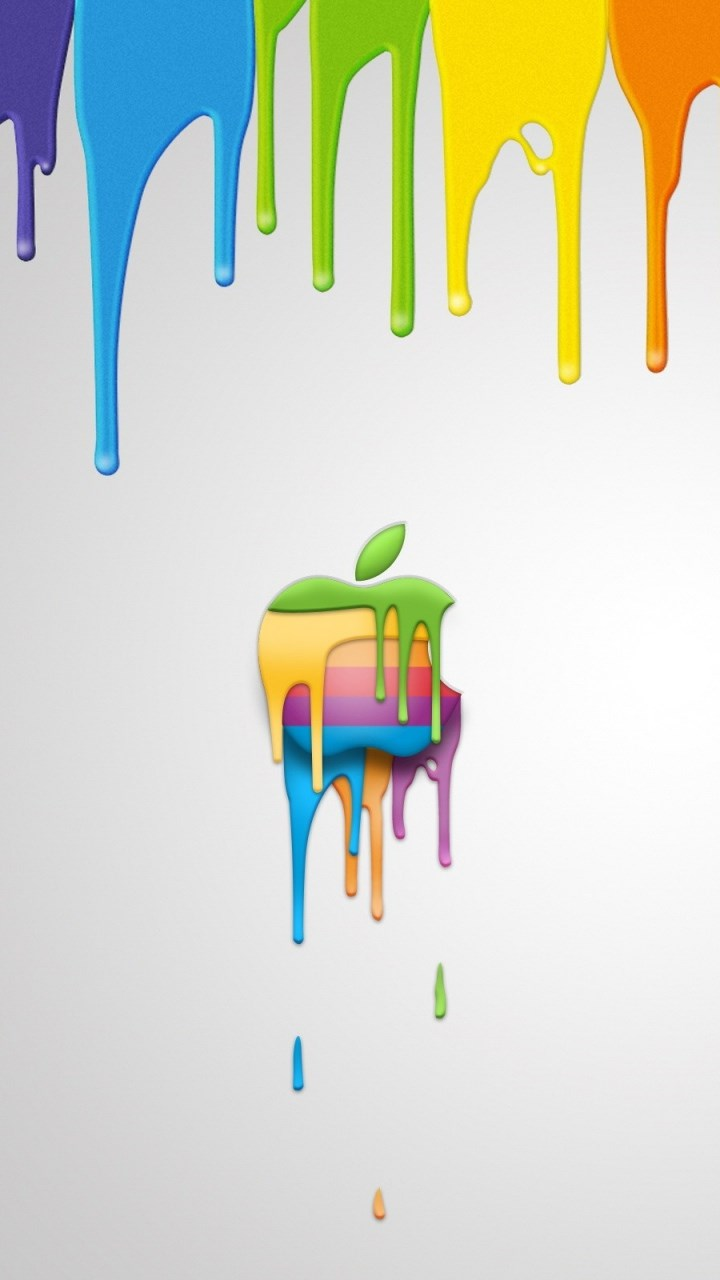 Nike Quotes Wallpaper Hd Iphone Colourful Apple Logo