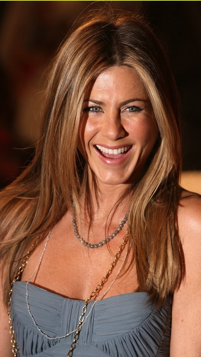 Girly Quotes Wallpapers For Mobile Smiling Face Jennifer Aniston