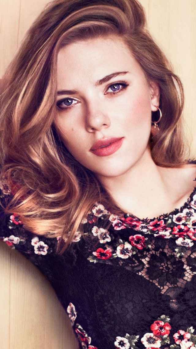 Cute Girly Skull Wallpapers Scarlett Johansson Black Top