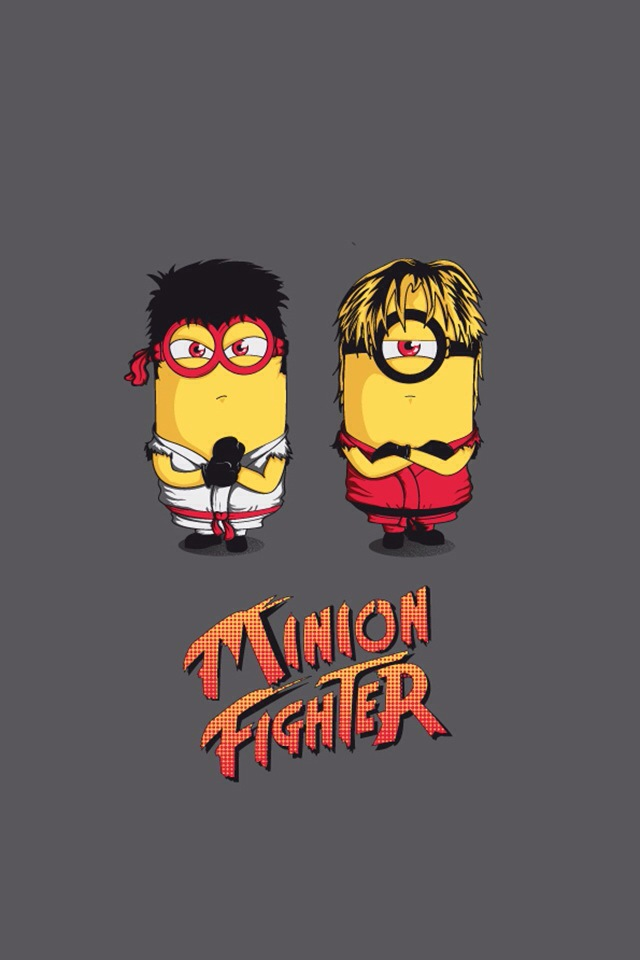 Cute Don T Touch My Phone Wallpaper Minion Fighter Wallpaper