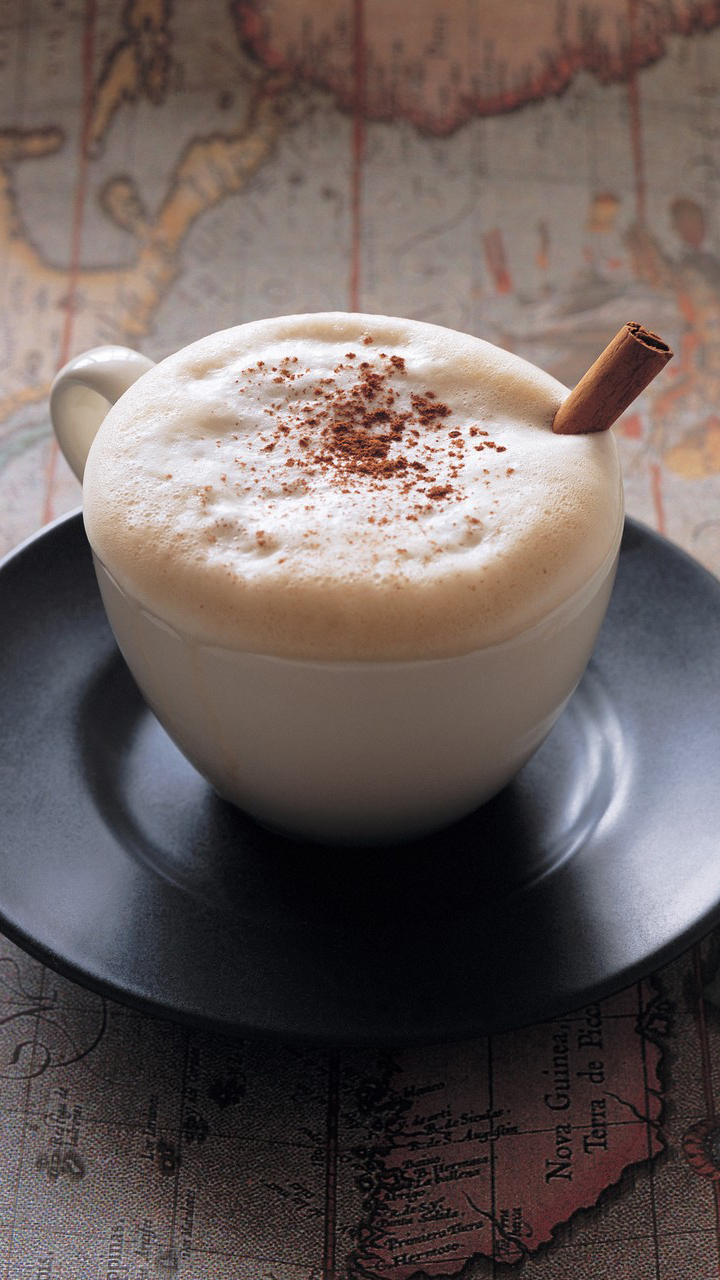 Hd Fall Wallpapers Phone Tasty Cappuccino Wallpaper