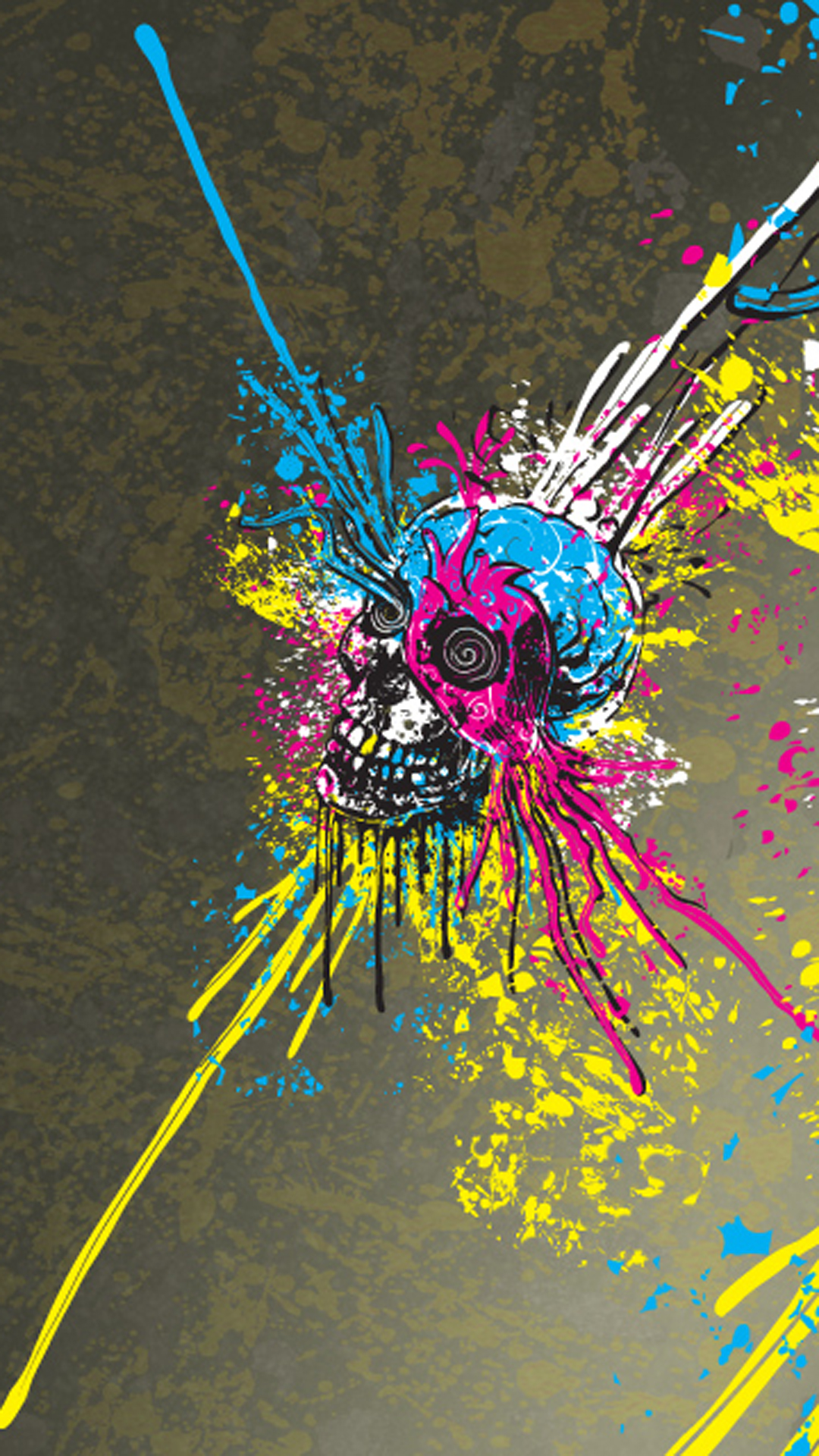 Quote Wallpaper For Sony Xperia Skulls Artwork By Paint