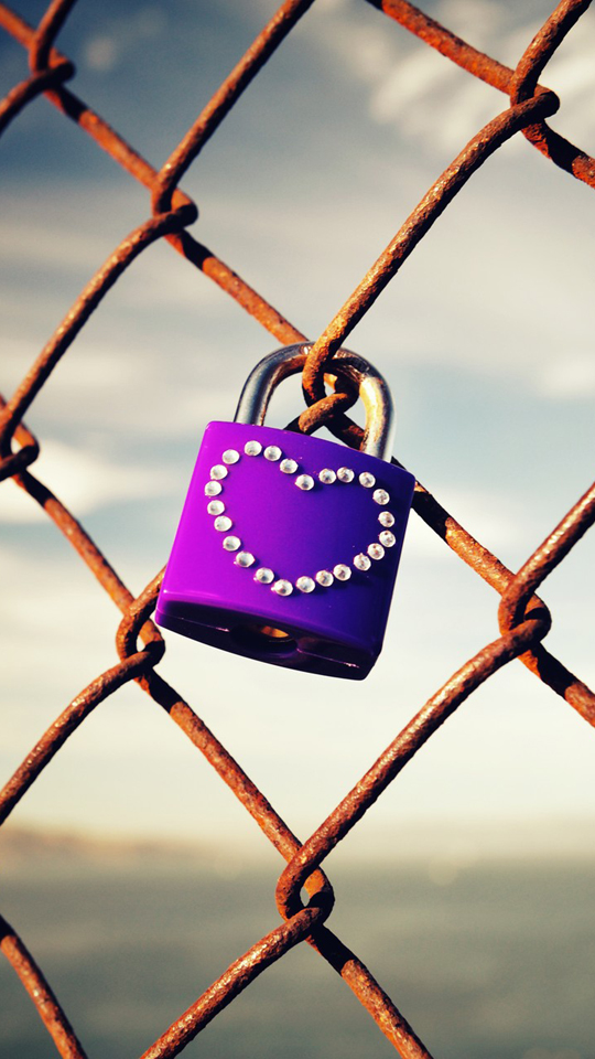 Girly Quotes Wallpapers For Mobile Love Lock Picture