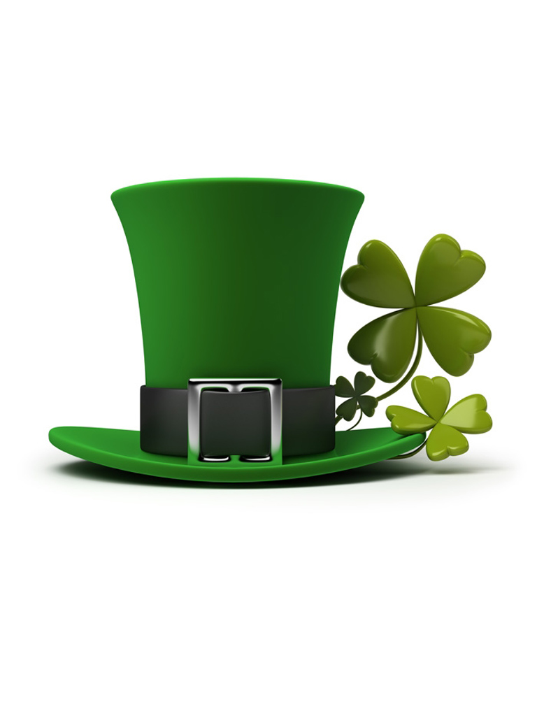 Hd Wallpapers For Htc Desire 816 St Patrick S Hat Wallpaper