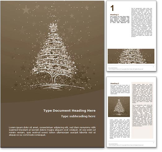 Free Christmas Templates For Word Document \u2013 Merry Christmas And - microsoft word christmas letter template