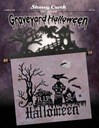 Stoney Creek Graveyard Halloween - Cross Stitch Pattern ...