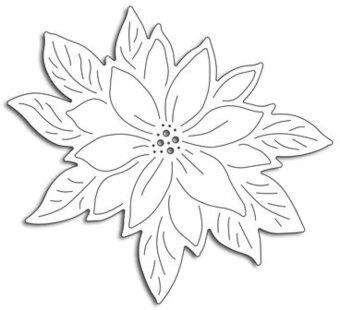 Poinsettia Dies - 123Stitch