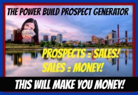 Make Money Online Make Money Online power prospect