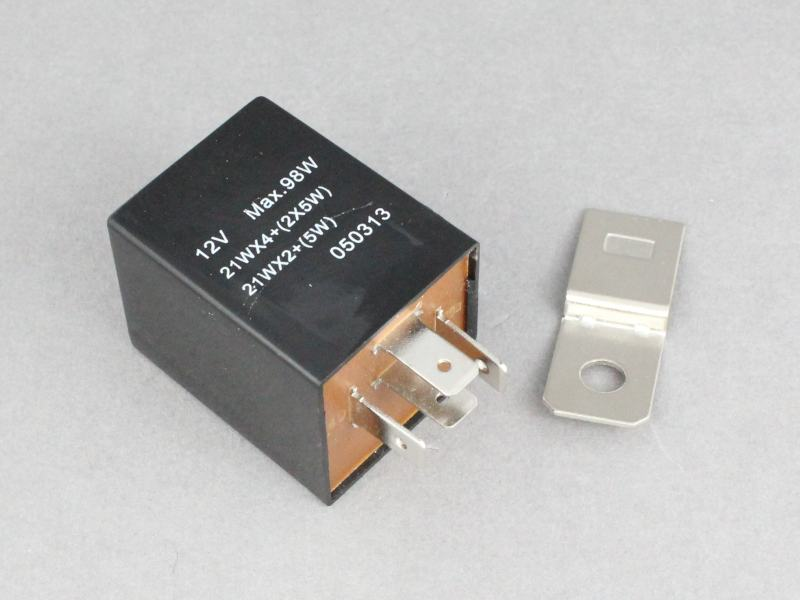 12v Electronic Flasher Hazard Relay 21wx2 5w 12 Volt