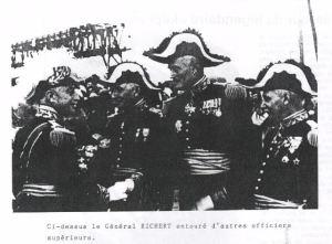 GR devant officiers