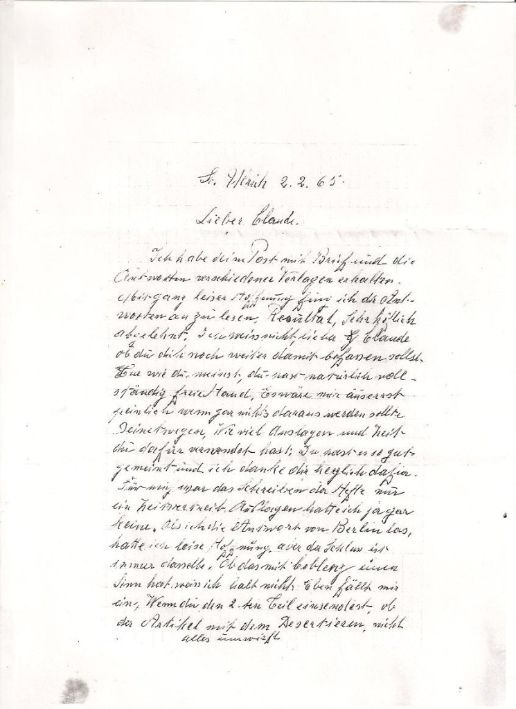 lettre de DR a Faffa