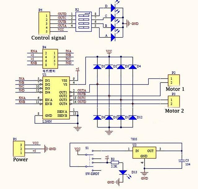Using L298n H Bridge with Stepper Motors on Arduino 14core