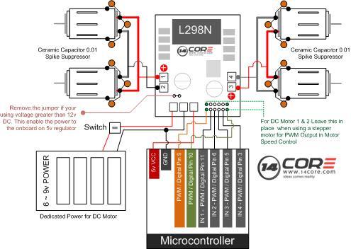 4 Wire Dc Motor Diagram Wiring Diagram