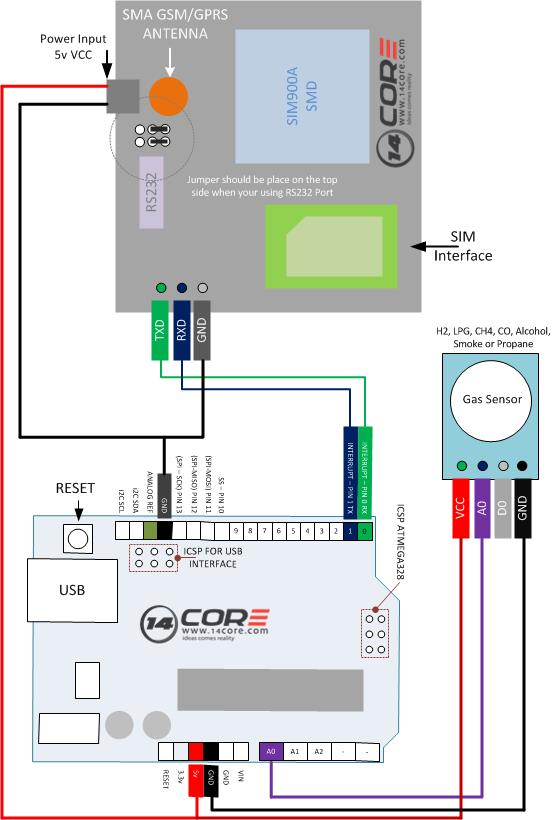 type k thermocouple wiring diagram