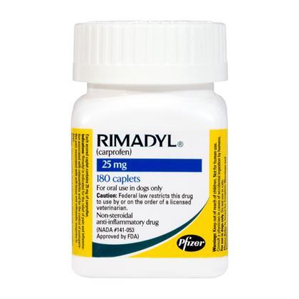 Rimadyl Arthritis Treatment for Dogs Free Shipping - 1800PetMeds