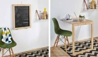 DIY : Cette table d'appoint escamotable se transforme en ...