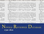 <em>The Novels Reviewed Database, 1790-1820 (NRD)</em>