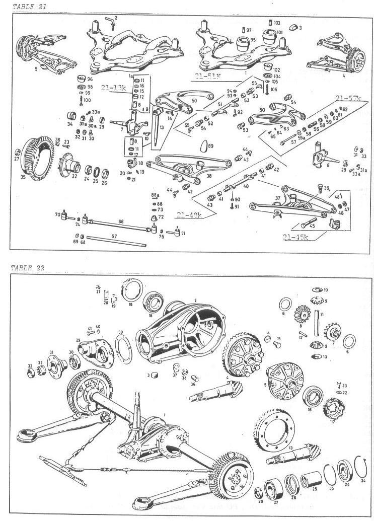 mercedes 190 sl wiring diagram