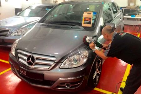 sung beng car grooming