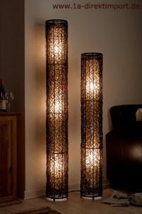 Exklusive Stehlampe neu, Rattanlampen Stehlampen Lampen ...