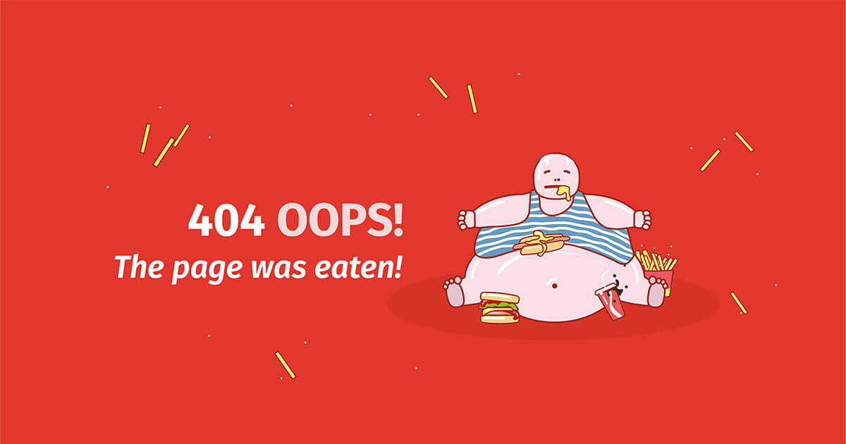 Cool and creative 404 pages tips and examples - 11
