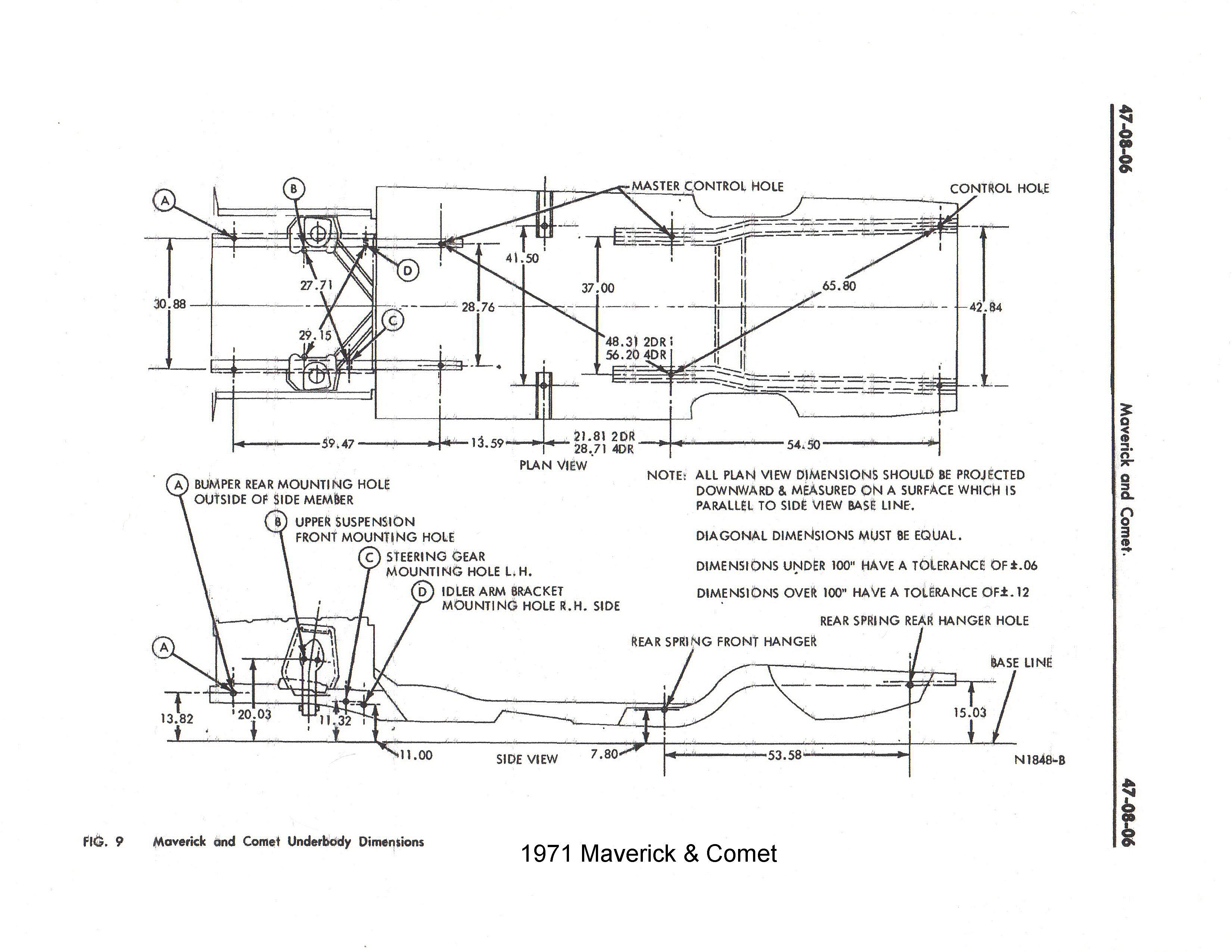 71 maverick wiring diagram