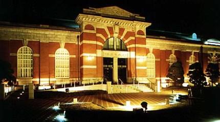 大阪市水道記念館 夜景