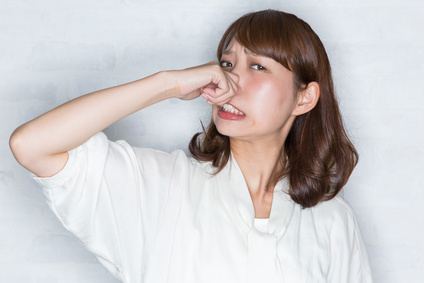 副鼻腔炎イメージ