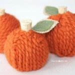 Repeat Crafter Me: Yarn Pumpkins