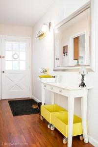 Making the Most Out of My Narrow Hallway Entrance - One ...