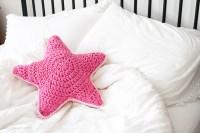 Sirius the Crochet Star Pillow - One Dog Woof