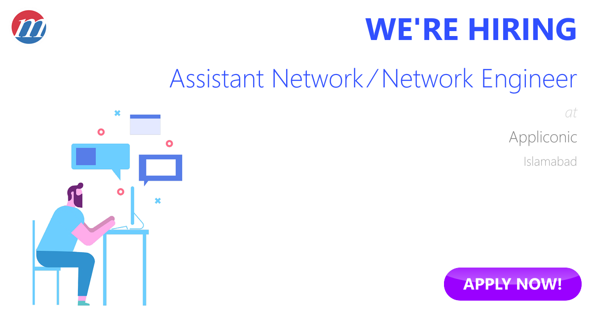 Assistant Network Network Engineer Job In Pakistan Appliconic
