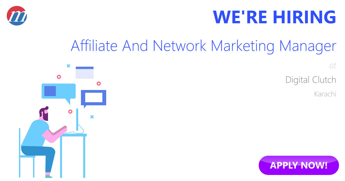 Affiliate And Network Marketing Manager Job in Digital Clutch