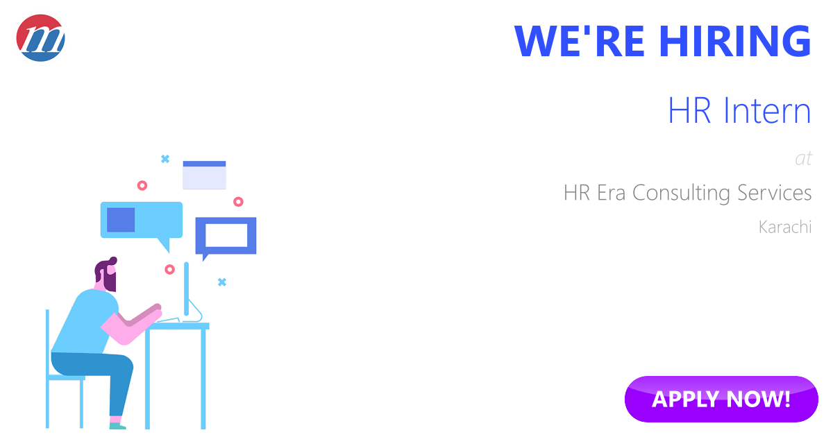 HR Intern Job in HR Era Consulting Services Karachi, Pakistan - Ref