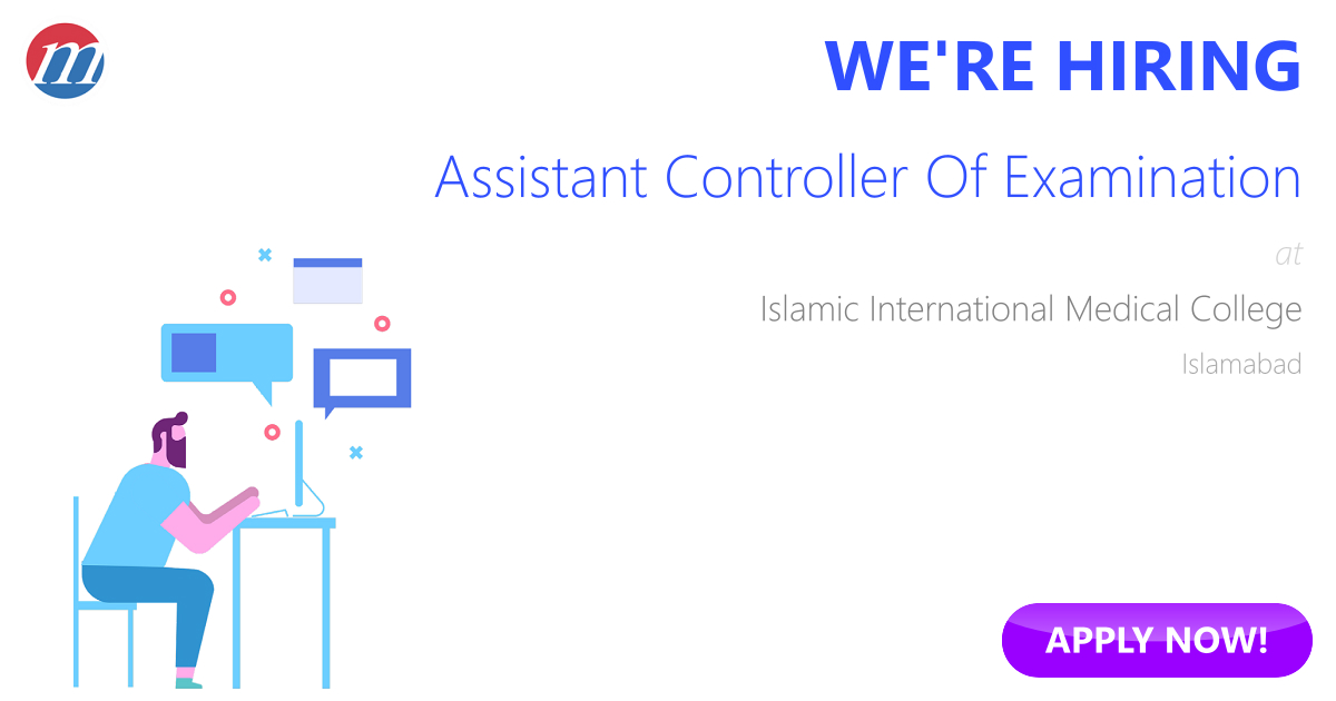 Assistant Controller Of Examination Job in Islamic International