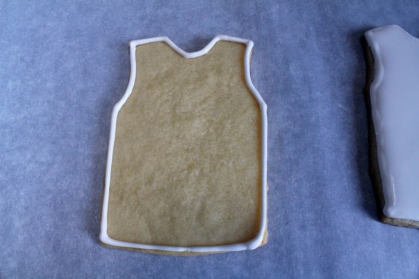 Jersey cookie outline