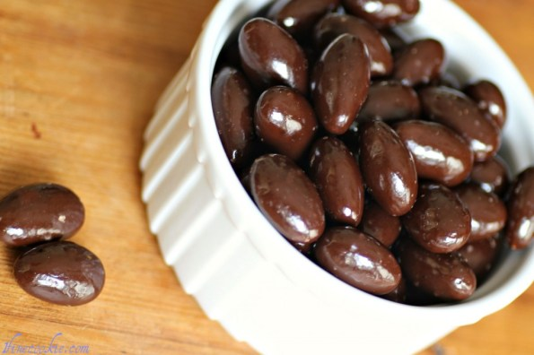 store-bought chocolate covered almonds