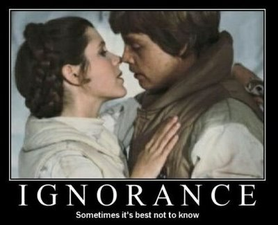 Luke Leia Ignorance