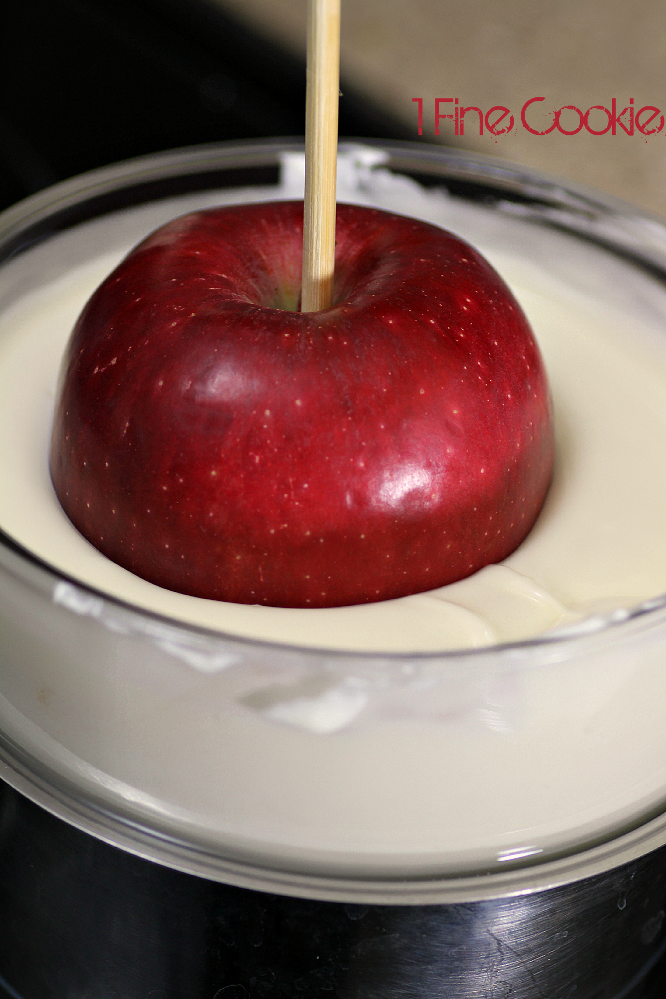 Dip In White Chocolate And Allow Excess To Drip Off Bloody Candy Apples  Halloween Or True